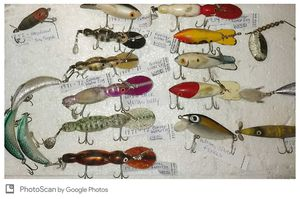 Vintage Fishing Lures $70. for Sale in Phoenix, AZ