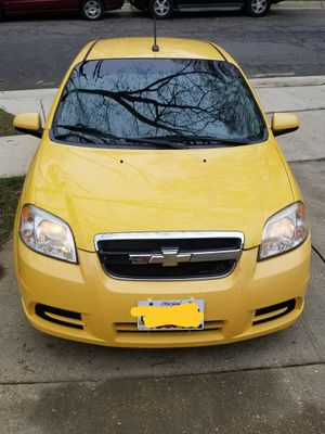 2010 CHEVY AVEO LT CLEAN TITLE 130K AUTOMATIC TRANSMISSION AC/HEAT CD PLAYER for Sale in Upper Marlboro, MD