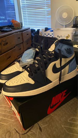 Jordan 1 obsidian size 12 vnds for Sale in Phoenix, AZ