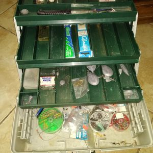 Fishing Tackle Box for Sale in Baldwin Park, CA