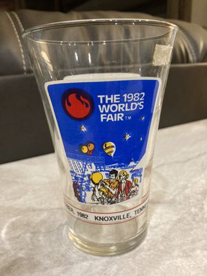 Collectible 1982 Worlds Fair glass for Sale in Woodruff, SC