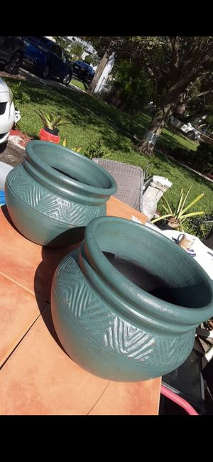 New garden pots potted plants for Sale in Fort Lauderdale, FL