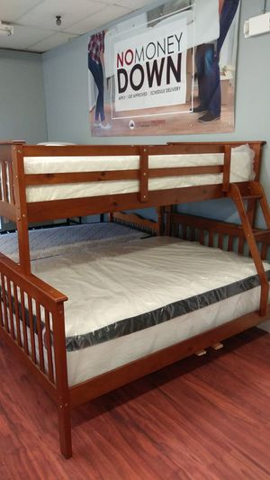 New Twin/Full Wooden Bunk Bed for Sale in Parma Heights, OH