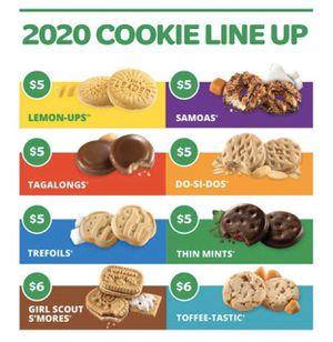 Girls Scout Cookies. Last few days of this cookie season for Sale in Bellflower, CA