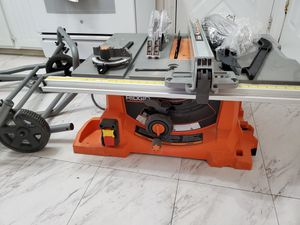Ridgid table saw 10 inch for Sale in Chicago, IL
