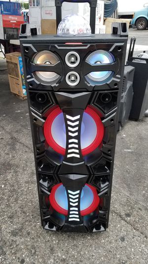 rider 2x10 in rechargeable speaker for Sale in Norwalk, CA