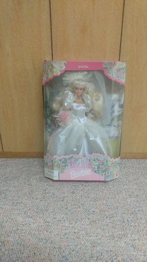 Brand New1996 Mattel Barbie Special Edition Rose Bride Barbie Doll for Sale in PA, US