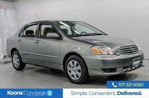 2003 Toyota Corolla for Sale in Arlington, VA