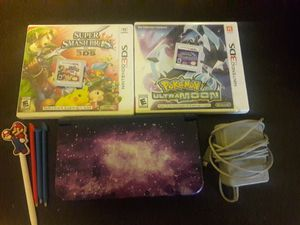 Nintendo 3ds xl galaxy edition +2 games for Sale in Willingboro, NJ