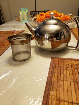 New stainless steel coffee,tea pot for Sale in Alexandria, VA