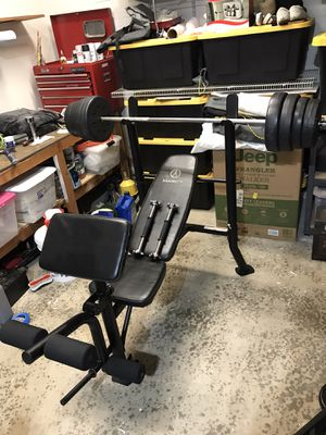 Marcy Bench Press for Sale in Buckley, WA