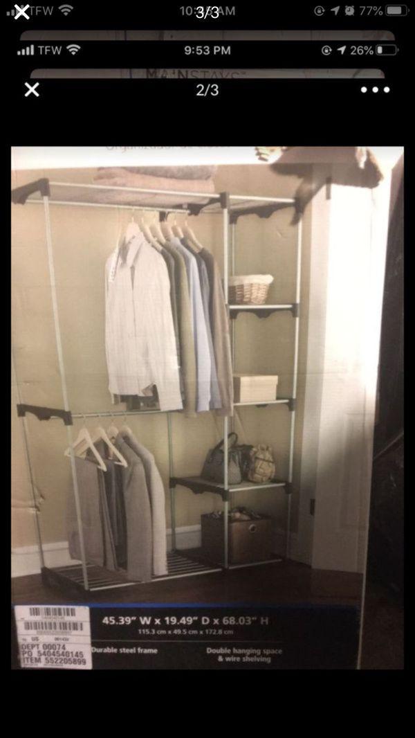 Mainstays Closet organizer