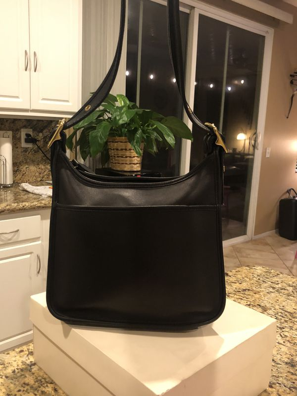 Classic Coach Black Legacy Shoulder Bag