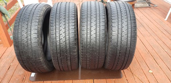 Bridge stone tires (4) dueler h/l p 255/55r 20 107 h