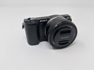 Sony a5000 20.1MP Mirorrless APS- Digital Camera Black E PZ OSS 16-50mm Kit Lens for Sale in Upland, CA