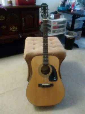 Great condition Epiphone acoustic guitar for Sale in Baltimore, MD