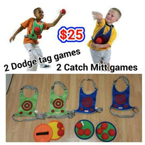 2 sets of Dodge tag game + 2 sets of another for Sale in Gladstone, OR