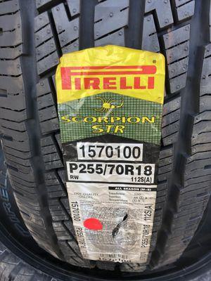 255/70/18 Pirelli tires (4 for $400) for Sale in Norwalk, CA