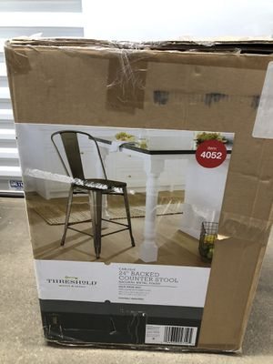 "Threshold Carlisle 24"" backed counter stool for Sale in Lakewood, OH"