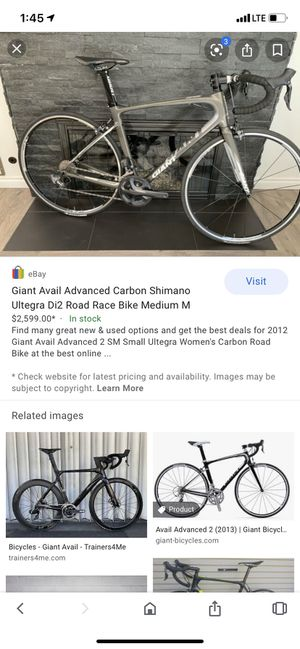 Giant Avail road bike for Sale in Lafayette, CA