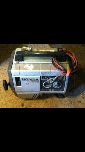 Honda Generator working great can power a motorhome for Sale in Victorville, CA