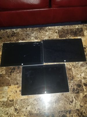 Microsoft Surface (3 tablets)all for $120 for Sale in Cicero, IL