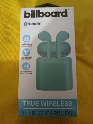 Billboard True Wireless Earbuds new in package for Sale in Columbus, OH