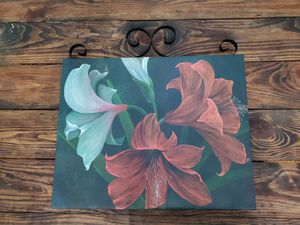 Lily Picture with Metal Accent for Sale in Hermitage, TN