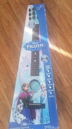 Disney's Frozen acoustic guitar for Sale in Burbank, CA
