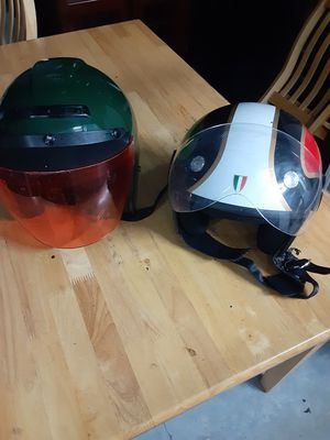 (2) Motercycle Helmets for Sale in Austin, TX