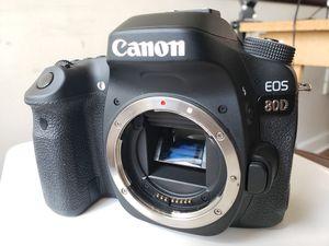 Canon 80d body in excellent condition for Sale in Atlanta, GA