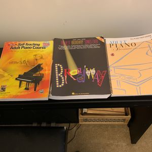 Self Teaching Piano Books for Sale in Rustburg, VA