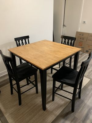 Dining table with chairs for Sale in Washington, DC