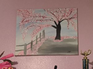 Cherry Blossom Tree Painting for Sale in Tampa, FL