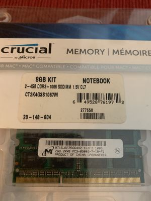 2GB DDR3 Notebook RAM for Sale in New Albany, IN