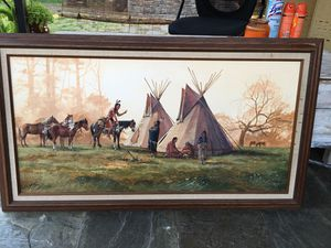 Raymer artist painting for Sale in Vernon, CA