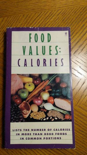 Calorie value book for Sale in Orland Hills, IL