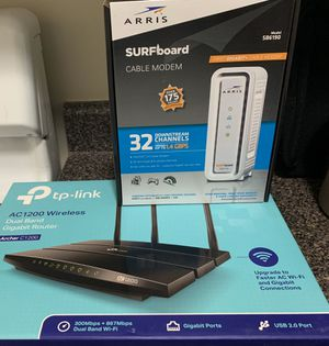 Selling RCN-approved modem and router for Sale in Bethesda, MD