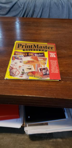 Print master deluxe for Sale in Grove City, OH