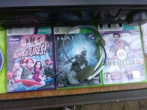 3 Xbox 360 games bundle for Sale in Washington, DC