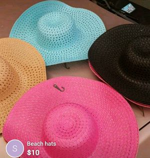 Beach hats for Sale in Grand Prairie, TX