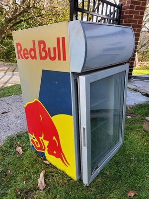 Red bull mini fridge for Sale in Pittsburgh, PA