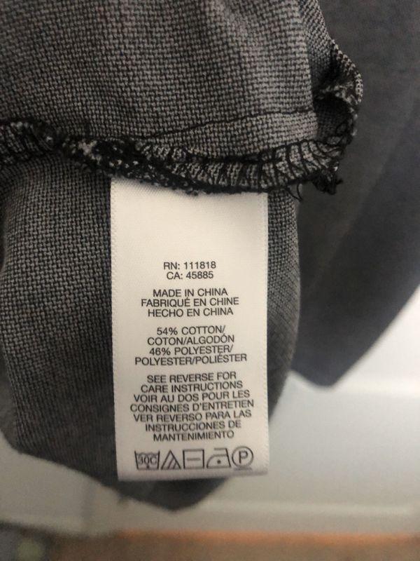 Michael Kors Dark Grey Polo Shirt Size XL