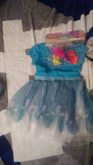 Brand new size 3t trolls dress for Sale in San Bernardino, CA