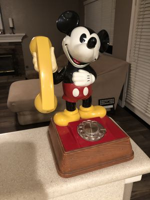 Very Rare 1970's Mickey Mouse Rotary Telephone. for Sale in Cabot, AR