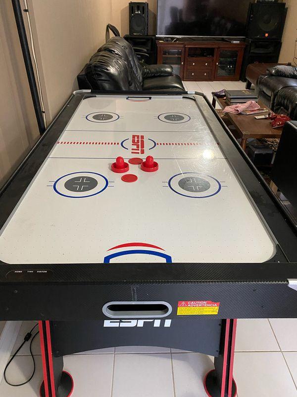 classic sport ESPN air hockey table