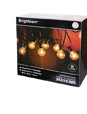 25Ft G40 Globe String Lights for Sale in Rialto, CA