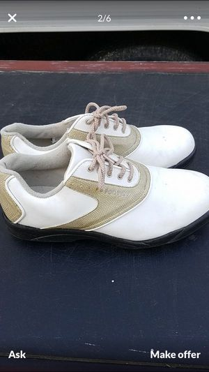 Mens golf shoes NEW!$20obo for Sale in Stockton, CA