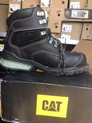 Caterpillar// work boots// (steel toe//(size 10 ) for Sale in Morton Grove, IL