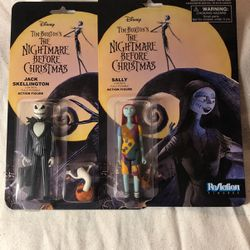 Sally And Jack Posable Action Figures for Sale in Long Beach,  CA